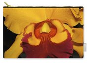Sunny Yellow Orchid Carry-all Pouch