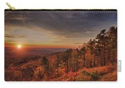 Sunrise 2-talimena Scenic Drive Arkansas Carry-all Pouch by Douglas Barnard