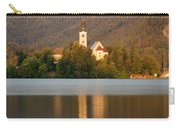 Sunrise Across Lake Bled Carry-all Pouch