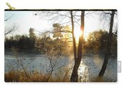 Sunrise Across The Mississippi Carry-all Pouch