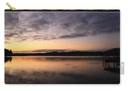 Sunrise And Fish And Docks Carry-all Pouch
