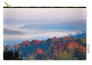 Sunrise And Fog In The Cumberland River Valley Carry-all Pouch