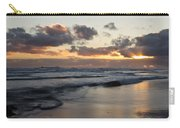 Sunrise At Bamburgh Beach Carry-all Pouch