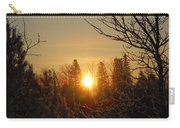 Sunrise In The Trees Carry-all Pouch
