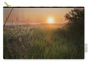 Sunrise On A Dew-covered Cattle Pasture Carry-all Pouch