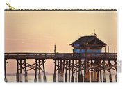Sunrise On Rickety Pier Carry-all Pouch