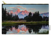 Sunrise On The Tetons Carry-all Pouch