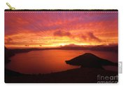 Sunrise Over Crater Lake Carry-all Pouch