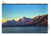 Sunrise Over Jackson Lake Carry-all Pouch