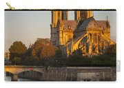 Sunrise Over Notre Dame Carry-all Pouch