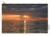 Sunrise Over Ripples Carry-all Pouch
