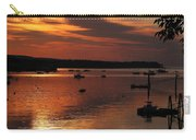Sunrise Over Southwest Harbor Carry-all Pouch