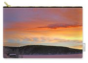 Sunrise Over Teslin Lake, Yukon Carry-all Pouch