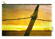 Sunrise Over The Prairie Carry-all Pouch