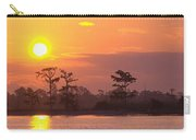 Sunrise Over The River Carry-all Pouch