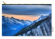 Sunrise Over The Rockies Carry-all Pouch