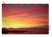 Sunrise Over Union Reservoir In Longmont Colorado Boulder County Carry-all Pouch