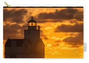 Sunrise Pier Fishermen Carry-all Pouch