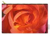 Sunrise Rose Carry-all Pouch