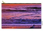 Sunrise Sea And Seagull Carry-all Pouch