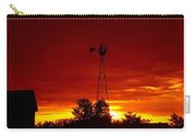 Sunrise Windmill 1 C Carry-all Pouch