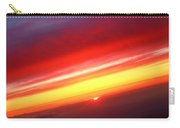Sunset Above The Clouds Carry-all Pouch