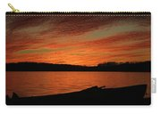 Sunset And Kayak Carry-all Pouch