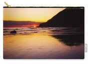 Sunset And Sea Carry-all Pouch