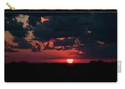 Sunset At Chestnut Ridge 27718 Carry-all Pouch