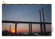 Sunset At Dartford Bridge Carry-all Pouch