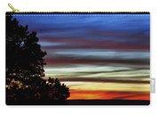 Sunset At Desert View Along The Grand Canyon Carry-all Pouch