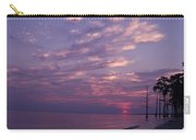 Sunset At Fountianbleu State Park Carry-all Pouch