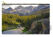 Sunset At Mack Lake Carry-all Pouch