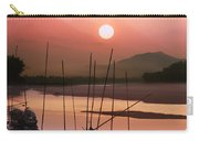 sunset at Mae Khong river Carry-all Pouch