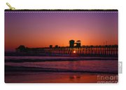 Sunset At Oceanside Pier Carry-all Pouch