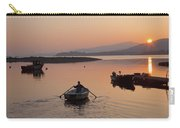 Sunset At Rosdohan Pier Near Sneem Carry-all Pouch