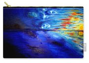 Sunset At Sea By Ted Jec. Carry-all Pouch