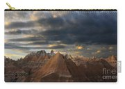 Sunset At The Badlands Carry-all Pouch