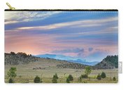 Sunset At The Colorado High Park Wildfire  Carry-all Pouch