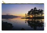 Sunset At The Lake, Kenmare, Ring Of Carry-all Pouch