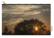 Sunset At The Oasis Carry-all Pouch by Joan Carroll