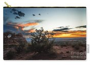 Sunset At Turrent Arch Carry-all Pouch