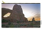 Sunset At Turret Arch Carry-all Pouch