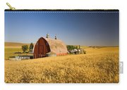 Sunset Barn And Wheat Field Steptoe Carry-all Pouch