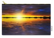 Sunset By The River Carry-all Pouch by Svetlana Sewell
