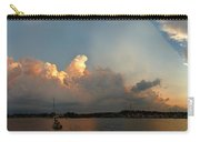 Sunset Clouds Over The Bay Carry-all Pouch
