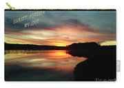 Sunset Forever My Love Carry-all Pouch