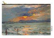 Sunset In Aegean Sea Carry-all Pouch
