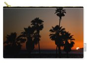 sunset in Califiornia Carry-all Pouch by Ralf Kaiser