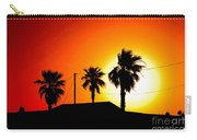 Sunset In Port Aransas Texas Carry-all Pouch